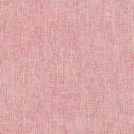 Essex Yarn Dyed Homespun- Scarlet- Robert Kaufman