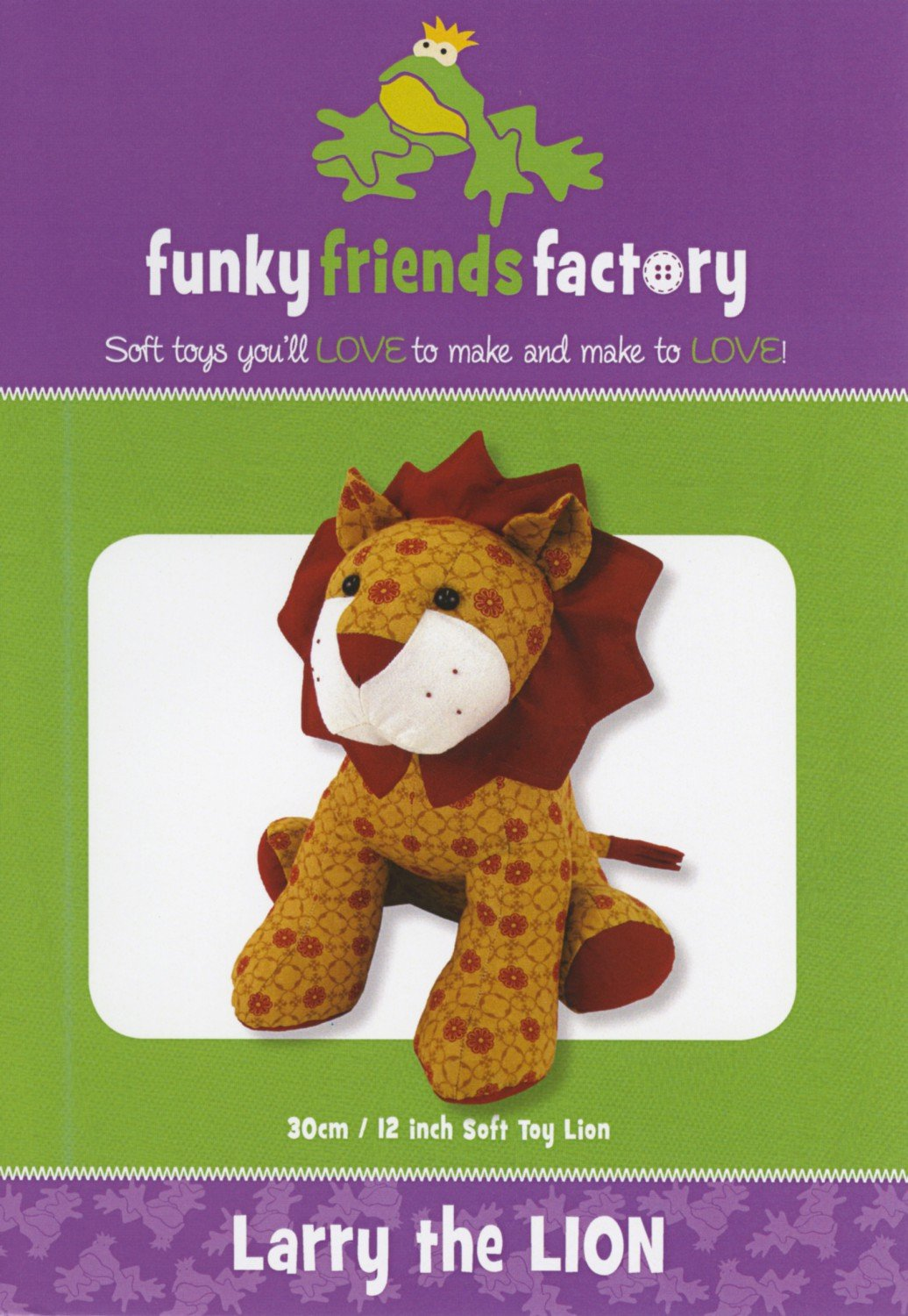 Larry the Lion- Funky Friends Factory