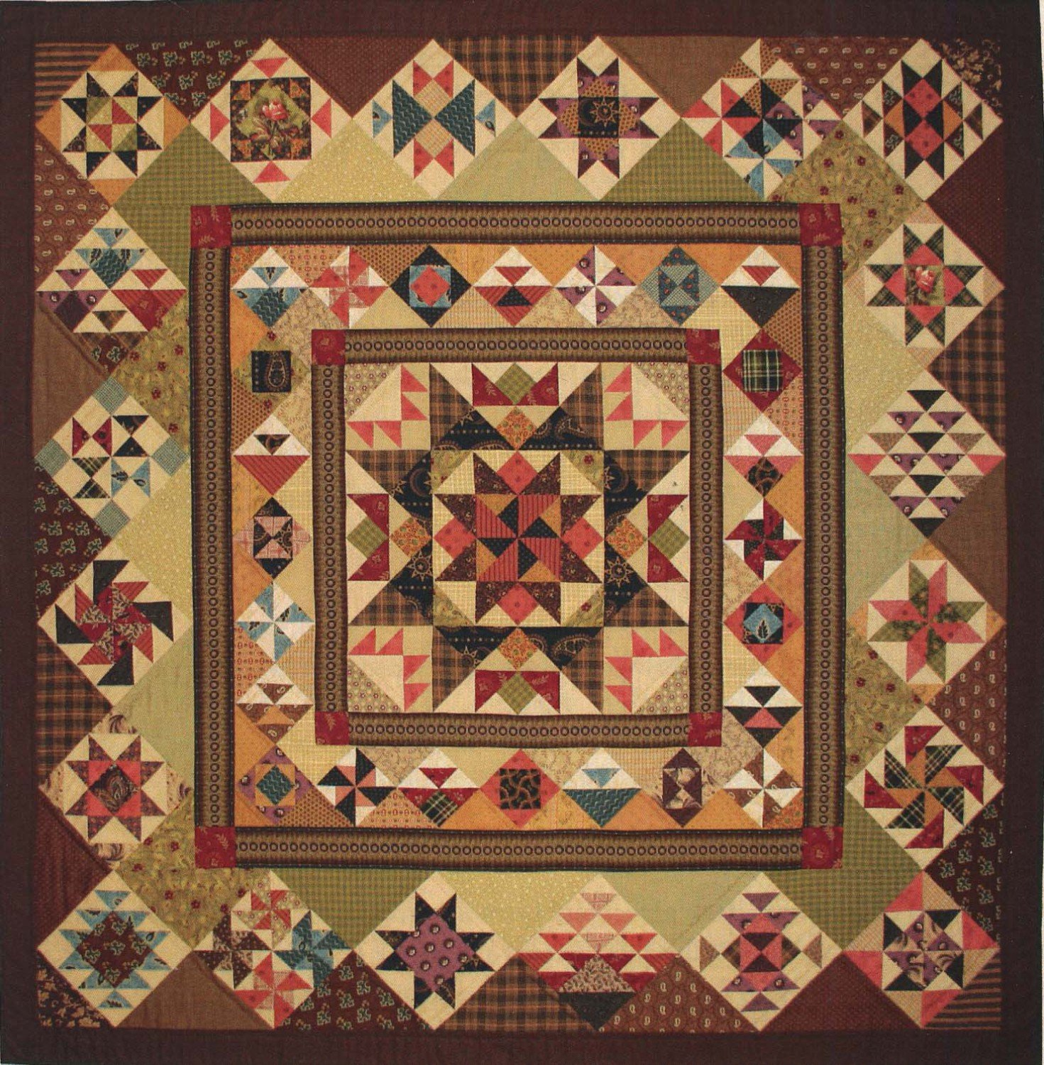 Aunt Lucy's Medallion Quilt- Lori Smith