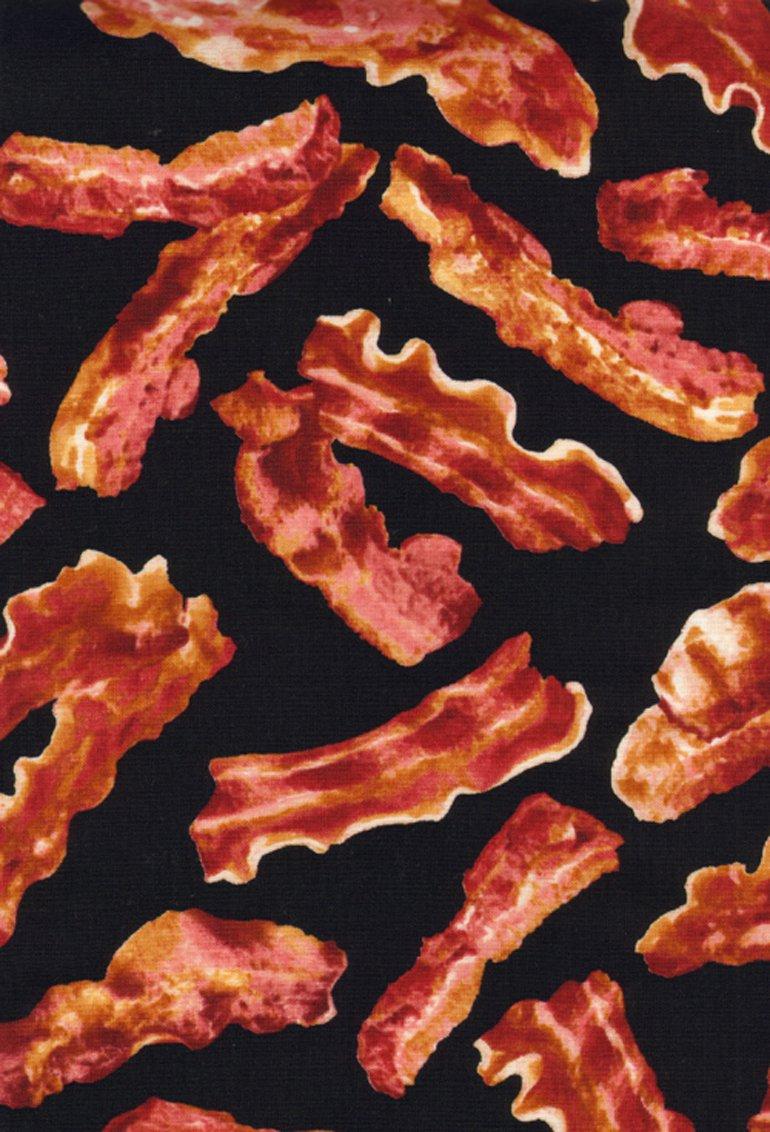 Bacon- Black- Timeless Treasures