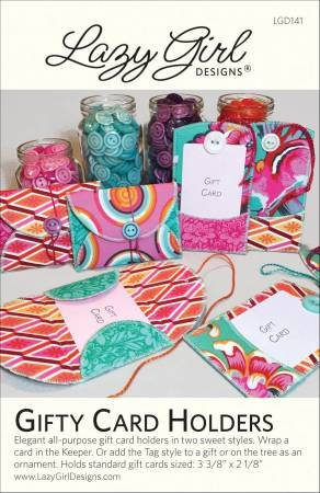 Gifty Card Holders- Lazy Girl Designs