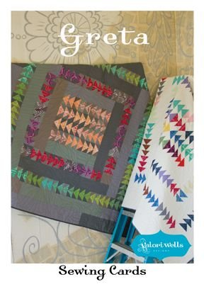 Greta Quilt Pattern- Sewing Card- Valori Wells