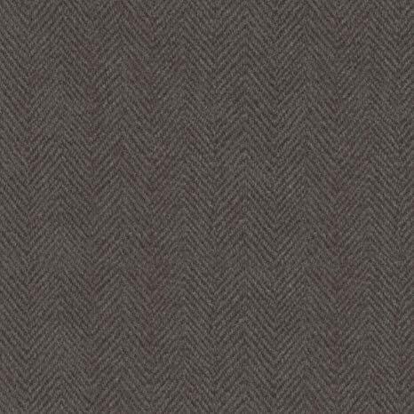 Woolies Flannel - Herringbone - Charcoal