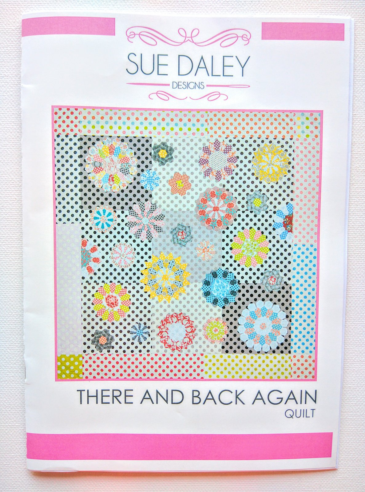 There and Back Again- Sue Daley Designs- English Paper Piecing Kit
