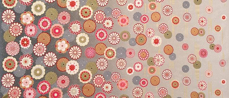 Satsuki - Border Print - Blossom - Robert Kaufman