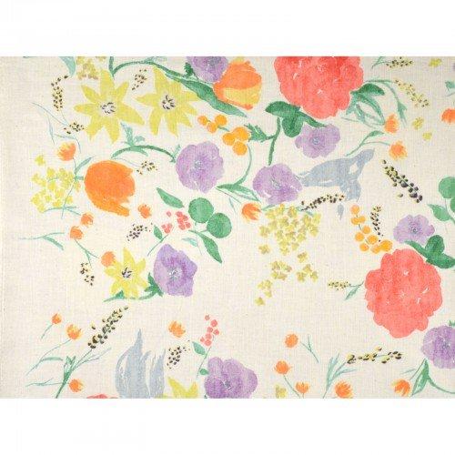 Fuccra: Rakuen- Nani Iro- Kokka- Morry Cloth- Floral- Cream