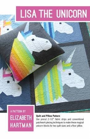 Lisa the Unicorn Quilt Pattern- Elizabeth Hartman