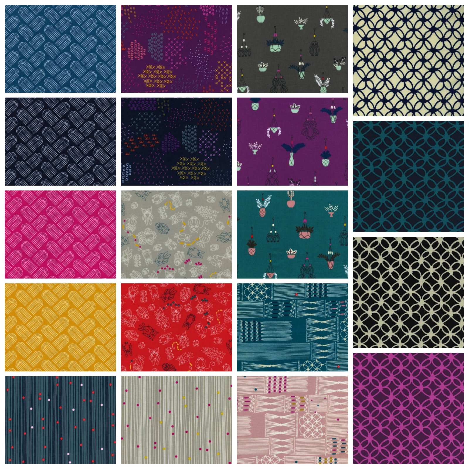 Cotton + Steel - Macrame - Fat Quarter Bundle (19 FQs)