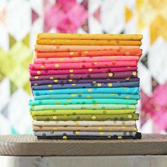 Ombre Confetti (20) Fat Quarter Bundle- V and Co.- Moda Fabrics