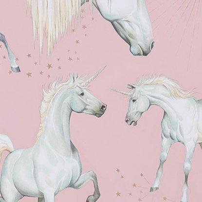 Stars of the Unicorn- Pink- Alexander Henry