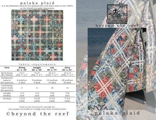 Palaka Plaid Pattern- Beyond the Reef