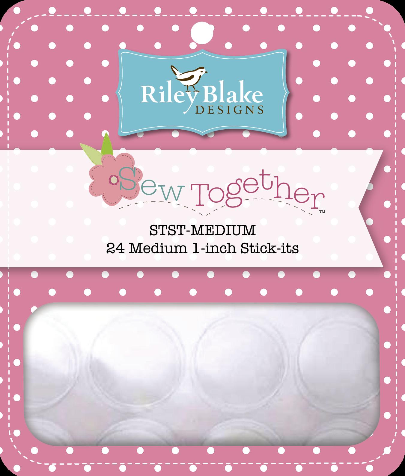 Stick-its- Riley Blake- 24 Medium 1-inch