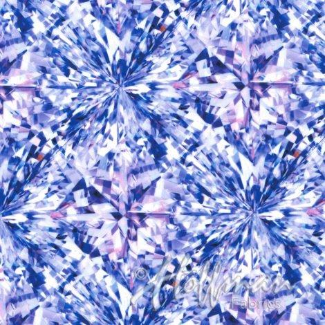 1 YARD- Shine On- Tanzanite- Hoffman Fabrics- A Hoffman Spectrum Digital Print