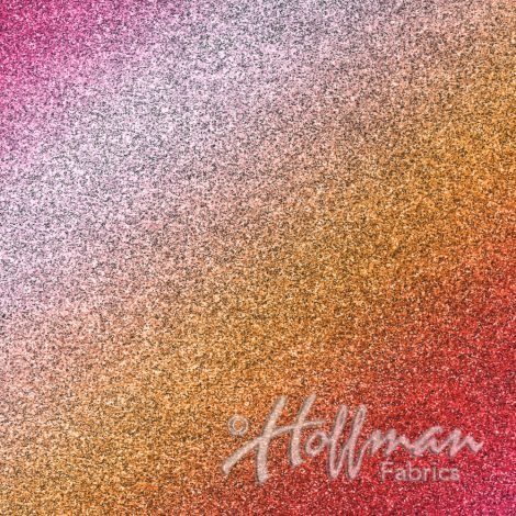 1 YARD- Shine On- Sunset- Hoffman Fabrics- A Hoffman Spectrum Digital Print