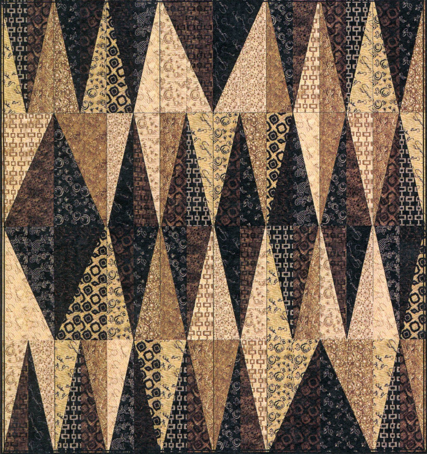 Wildcard Quilt Pattern- A Quilter's Dream