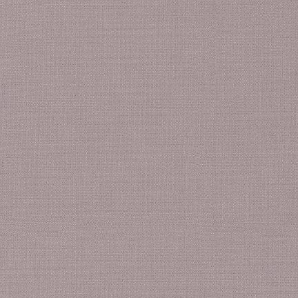 1 3/4 YARDS- Kona Cotton- Smoke- Robert Kaufman