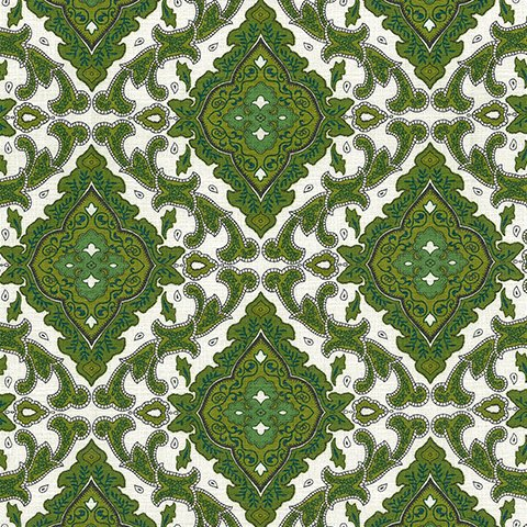 1 YARD- Outback Wife- Aggie- Green- Gertrude Made