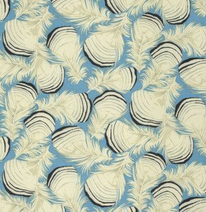 1/2 YARD- Westwood - Duck Feathers - Teal - Martha Negley