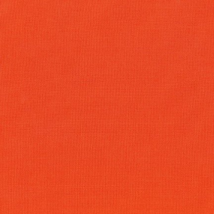 Kona Cotton- Tiger Lily- Kona Color of the Year 2018- Robert Kaufman