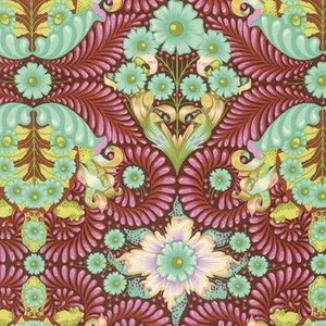 3/4 YARD- Slow and Steady- The Tortoise- Orange Crush- Tula Pink- Free Spirit