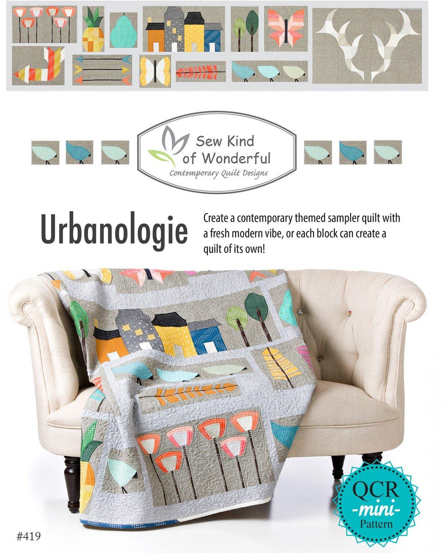 Urbanologie Quilt Pattern- Sew Kind of Wonderful