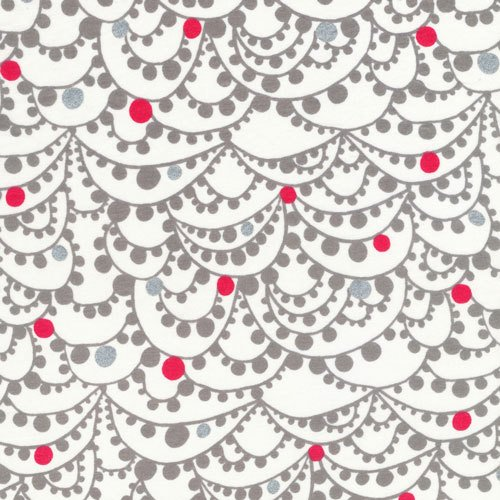 Revelry - Gala in Metallic - Lisa Congdon - Cloud 9 Organic Voile