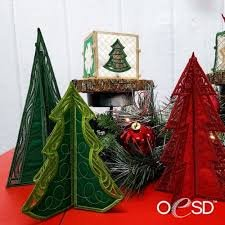 Ornaments Holly Jolly OESD Design