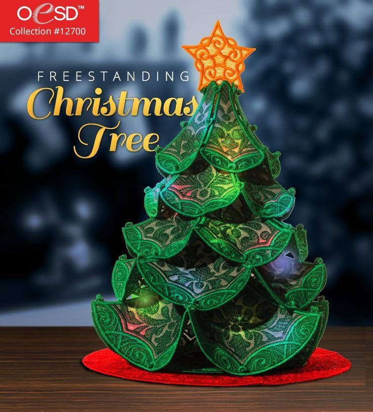 Freestanding Christmas Tree