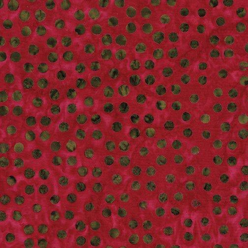 Dots Great Deep Rose - Benartex