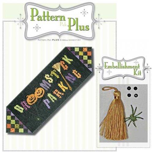 Broomstick Parking Pattern Pak Plus Embellishment Kit