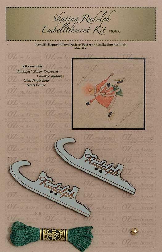 Skating Rudolph Accessory Kit