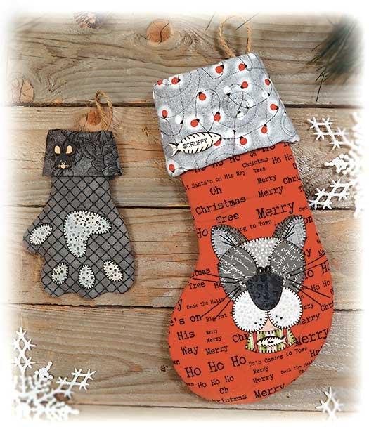 Kitty Stocking Pattern