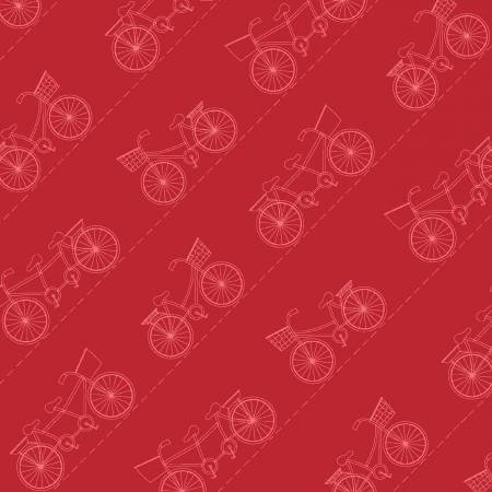 Red Diagonal Bikes