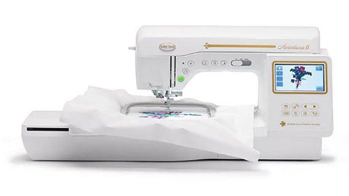 Aventura II embroidery machine