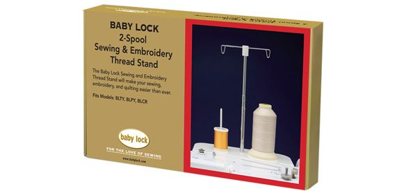 2-Spool Sewing & Embroidery Thread Stand BLTY, BLJY, BLPY, BLCR, CBLAR
