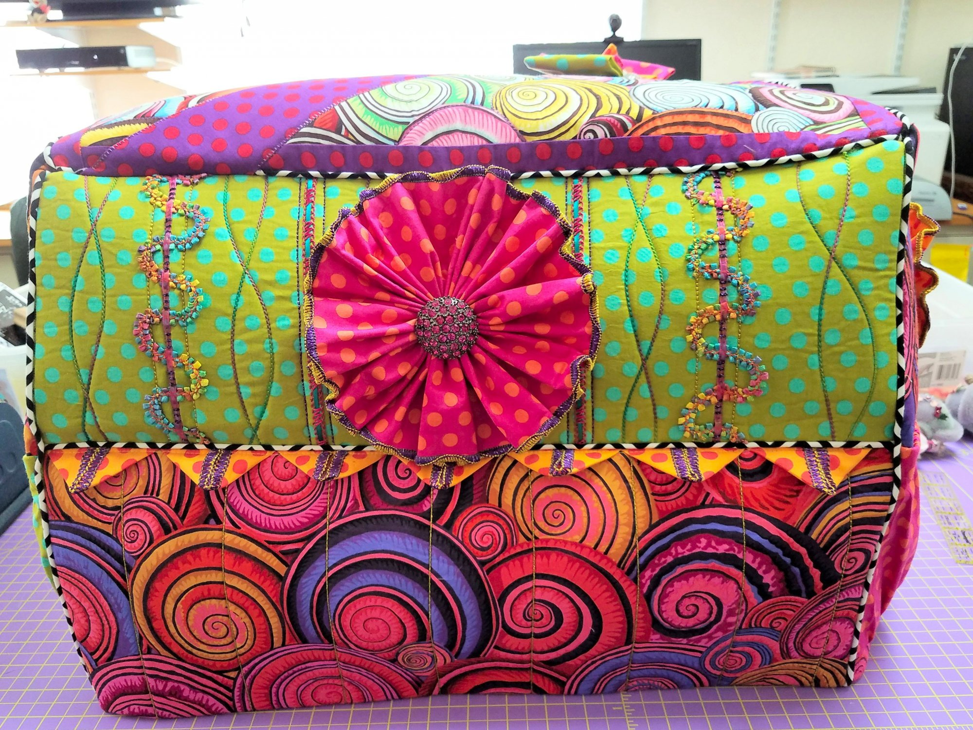 Pattern - Deb Canham Studio Small Serger Cover