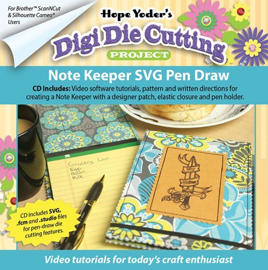 Note Keeper SVG Pen Draw DDCP