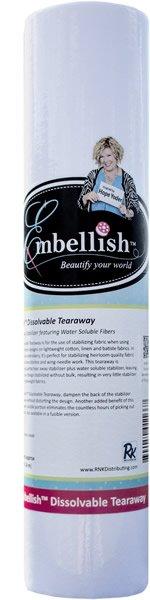 Embellish Fusible Dissolvable Tearaway 15 x 10yds