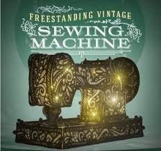 Freestanding Lace Vintage Sewing Machine