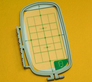 Multiposition Embroidery Hoop & Grid 4 x 6-7/10 (100mm x 170mm)