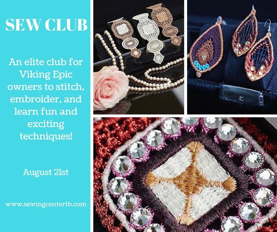 August SEW Club