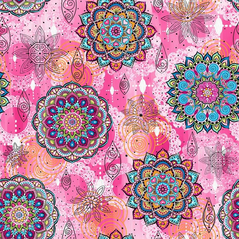 Mandala Tango Mandalas pink
