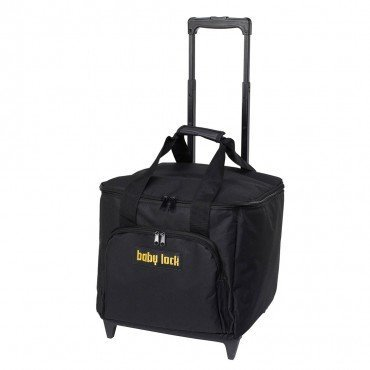 Baby Lock serger trolley black with gold logo (Small sergers)