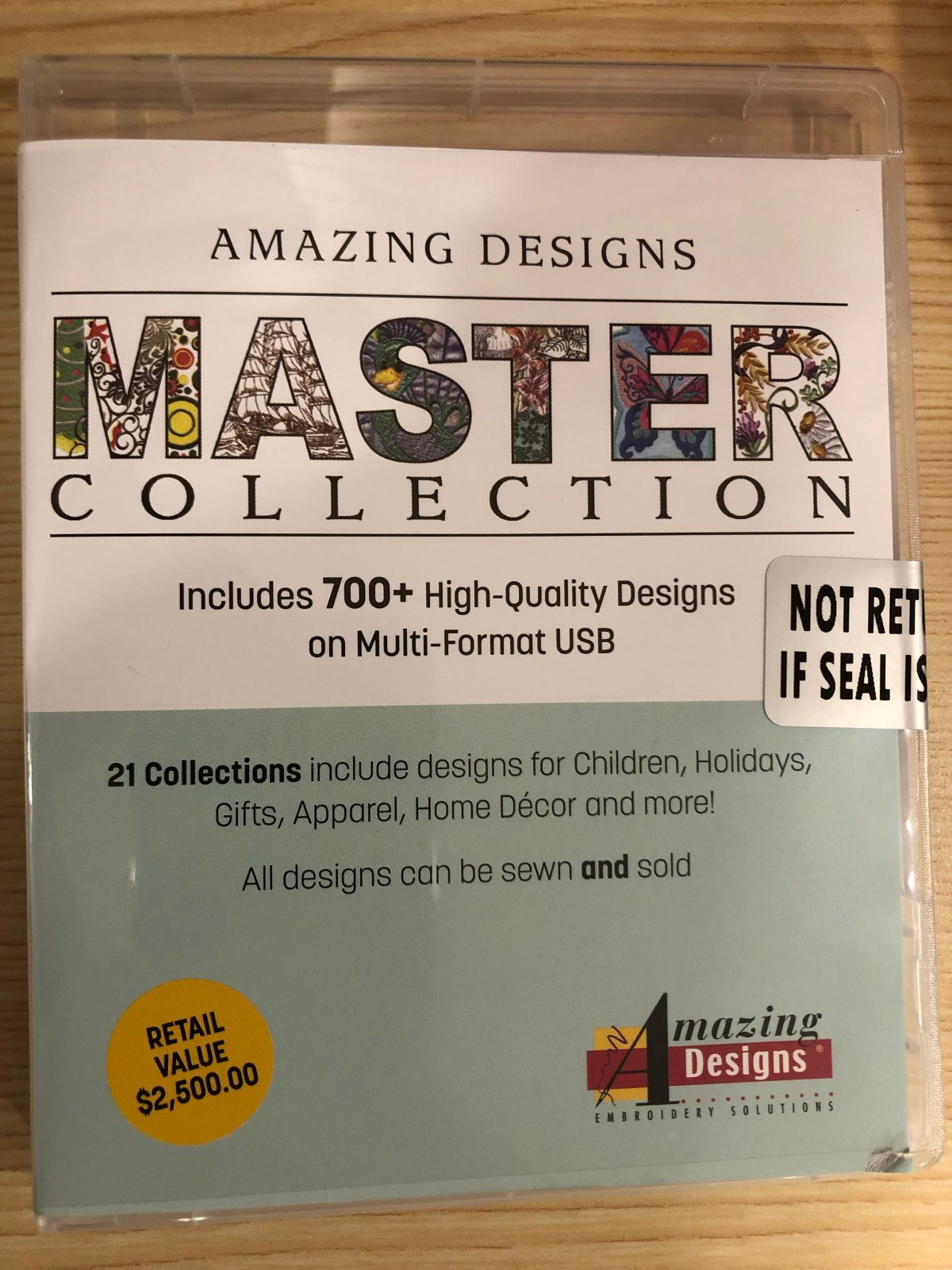 Amazing Designs Master Collection