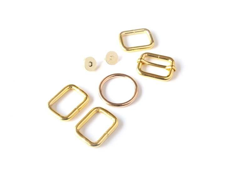 Selena Hardware Kit Rose Gold