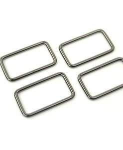Rectangle Rings 1 1/2 (set of 4)