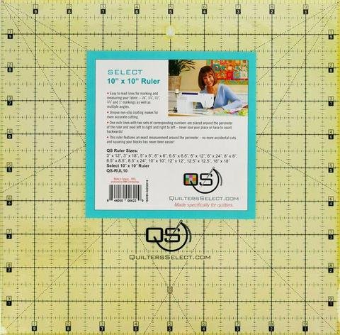 10 x 10 Non-Slip Deluxe Quilting Ruler