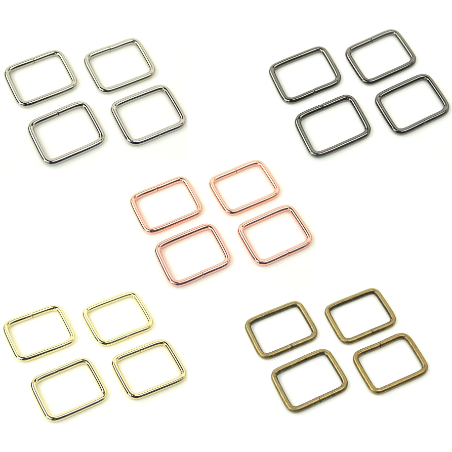 Rectangle Ring 1 (set of 4)