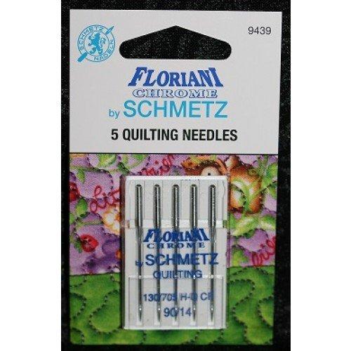 90/14 Quilting Floriani Chrome Schmetz Needles