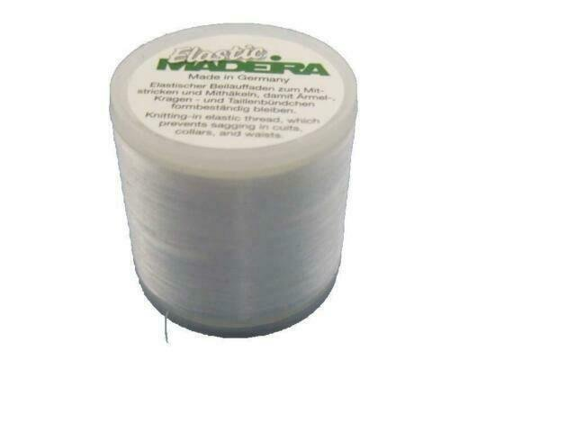 ELASTIC INVISIBLE KNITTING-IN MADEIRA THREAD 220YD/200M